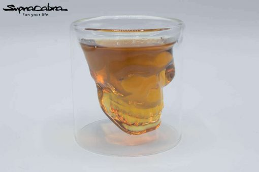 3D Skull Glass side by Supracabra.com - Fun your life