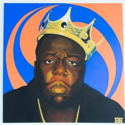 Biggie Painting Original by Supracabra.com - Fun your life