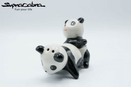Panda Salt and Pepper Shakers creative position 1 by Supracabra.com - Fun your life