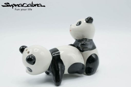 Panda Salt and Pepper Shakers creative position 1.1 by Supracabra.com - Fun your life