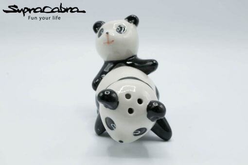 Panda Salt and Pepper Shakers creative position 1.2 by Supracabra.com - Fun your life