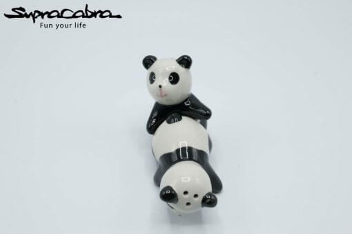 Panda Salt and Pepper Shakers creative position 1.3 by Supracabra.com - Fun your life