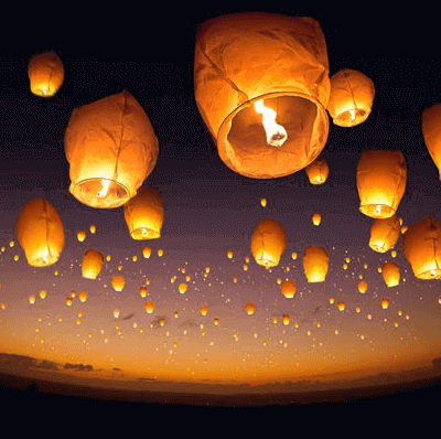 Sky Lantern (Wishing balloon) by Supracabra.com - Fun your life