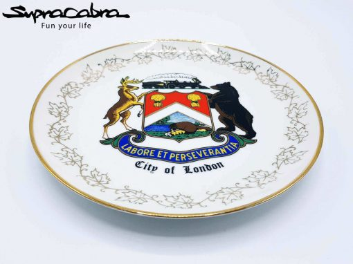 City of London 22K Gold Plate layed down by Supracabra.com - Fun your life