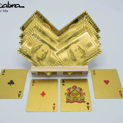 Gold Playing Cards by Supracabra.com - Fun your life