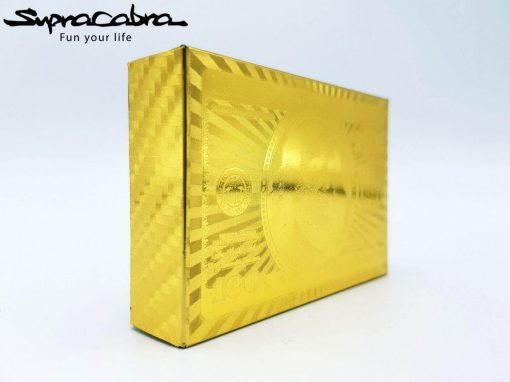 Gold Playing Cards front package by Supracabra.com - Fun your life