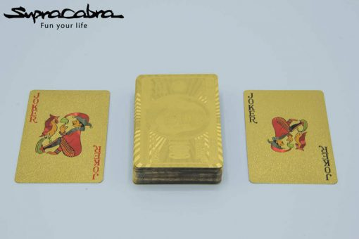 Gold Playing Cards jokers by Supracabra.com - Fun your life