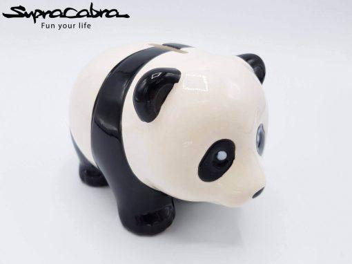 Money Saving Panda front diagonal view by Supracabra.com - Fun your life