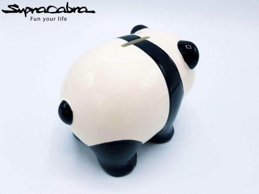 Money Saving Panda rear diagonal view 2 by Supracabra.com - Fun your life
