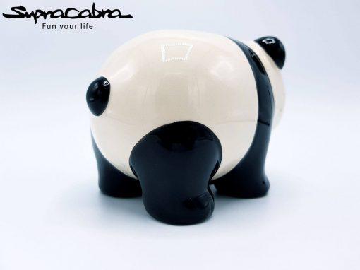 Money Saving Panda rear diagonal view by Supracabra.com - Fun your life