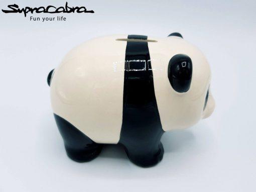 Money Saving Panda side view by Supracabra.com - Fun your life