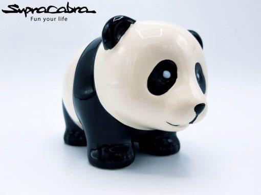 Money Saving Panda smiling by Supracabra.com - Fun your life