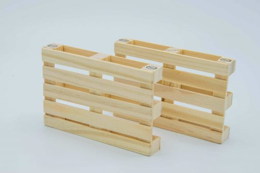 Pallet Coasters (Set of 4) 2 on their side by Supracabra.com - Fun your life