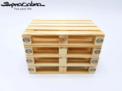 Pallet Coasters (Set of 4) stacked by Supracabra.com - Fun your life