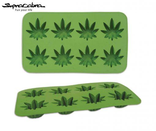 Weed Ice Cubes - Weed Leaf Ice Cube Tray 2 by Supracabra - Fun your life