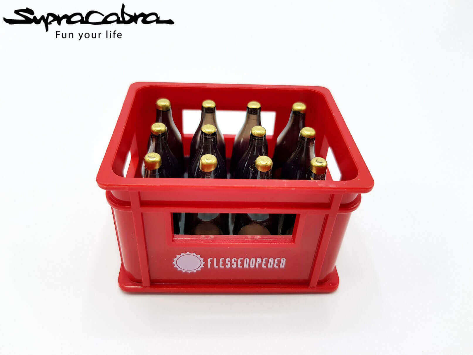 Crate of beer bottle opener red or green red by supracabra com