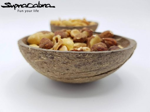 Coconut Bowls filled front by Supracabra.com - Fun your life