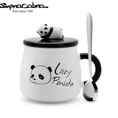 Lazy Panda Mug by Supracabra.com - Fun your life