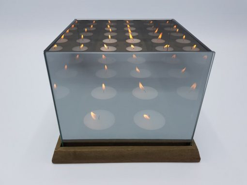 Infinity Tealight Holder front by Supracabra.com – Fun your life
