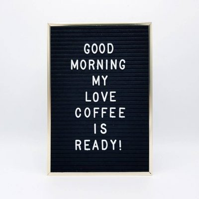 Vintage Felt Letter Board by Supracabra.com – Fun your life